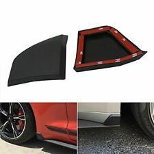 2015-2018 for Ford Mustang GT350 Rocker Winglets Side Skirt Spoiler Guard Black