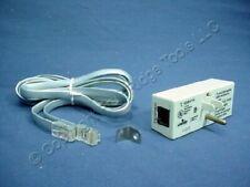 New Leviton TVSS 8-Wire Phone Telephone Line Surge Suppressor Protector 5350-PT8