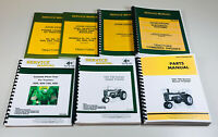 SERVICE PARTS MANUAL SET JOHN DEERE 720 730 DIESEL TRACTOR GAS & ELECTRIC CRANK