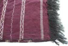 Vintage Victorian Red Parlor Tablecloth Topper Hand Loomed Piano Scarf Fringe
