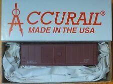 Accurail HO #3698 Data Min Red ( 40' AAR DBL Door Steel Boxcar kit )