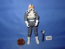 "Star Wars 2005 CLONE PILOT JEDI TEMPLE ASSAULT PILOT ROTS 3.75"" figure"