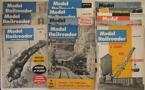 Model Railroader Magazine ~ 1957 Complete Year ~  12 Issues