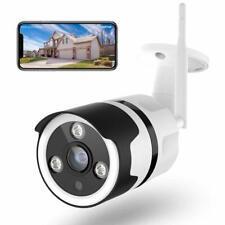 Outdoor Security Camera 1080P Waterproof Wireless WiFi Bullet Camera Night Visio