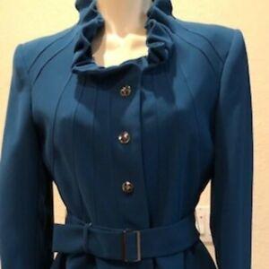 Tahari 2-pice women's suit - petite size 4 - New - teal color