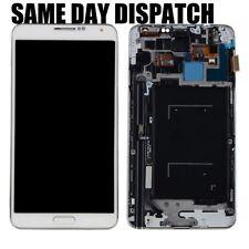 Para Samsung Galaxy Note 3 N9005 blanco reemplazo de pantalla LCD de pantalla táctil + marco