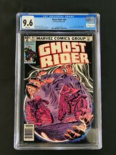 "Ghost Rider #44 CGC 9.6 (1980) - Newsstand Edition - ""Death"" of Crimson Mage"