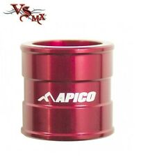 Apico Front Wheel Spacer Honda CRF250X 04-17 CRF450X 05-17 RED (SINGLE)