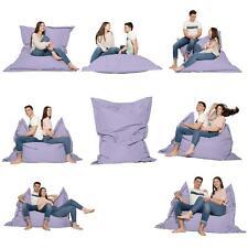 Sitzkissen Eckig Sitzsack Kissen Sessel Outdoor Indoor wasserabweisend Beanbag