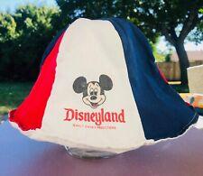 Vintage 1960 70s Mickey Mouse Floppy Bucket Beanie Hat Disneyland