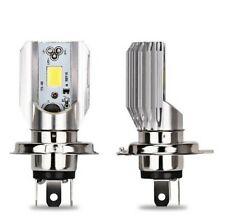 Ampoule LED H4 pour scooter moto 6000K phare de Croisement et Plein phare