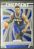 ZION WILLIAMSON 2019-20 Panini Prizm Emergent Rookie Pelicans RC
