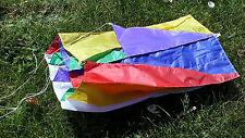 "KITE Premiere Kites Cube Tube Multi-Color 12"" wide Unique Geometric Wonder Cool"