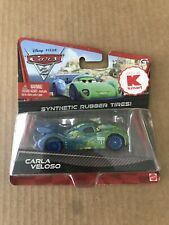 Disney Pixar CARS 2 CARLA VELOSO Kmart Exclusive Synthetic Rubber Tires