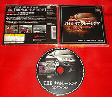 THE REAL RACING TOYOTA Ps1 Japan Version ○ USATO - C6