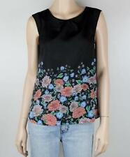Polyester Floral Sleeveless Tops & Blouses for Women TOKITO
