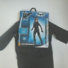Dark Knight Catwoman Child Costume With Mask - Size L (12-14) - NWT