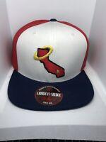 Los Angeles Angels MLB Baseball Cap Red Blue White One Size Adjustable Snapback
