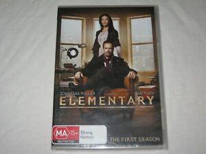 Elementary - Season 1 - Lucy Liu - Brand New & Sealed - Region 4 - DVD