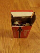 Antique Nichols Tophand Caps Box Of 100 Round Caps For Cap Gun Rare Vtg Stock