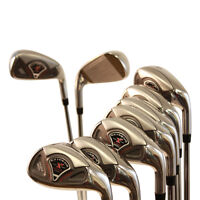 Womens Senior Made Golf Clubs Graphite Lady Ladies Hybrid Set Taylor Fit 4-SW