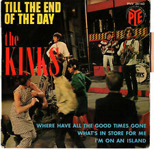 "THE KINKS   EP  PYE   "" TILL THE END OF THE DAY ""    [France]"