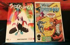 SPIDER-GWEN TPB 0 Web of Spider-Man 19 1st Print 1st App CGC it SPIDER-VERSE