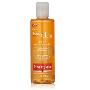 Neutrogena Rapid Clear 2-In-1 Fight and Fade Toner Acne Treatment (8 oz/ 236 ml)