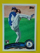 Tim Collins 2011 Topps #471 RC Kansas City Royals / Toronto Blue Jays MLB Rookie