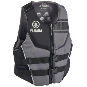 Yamaha Men's Yamaha Neoprene Two-Buckle PFD - Black
