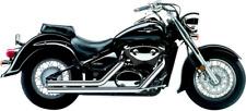 Cobra Motorcycle Streetrod Exhaust Straightcut Chrome 3717T