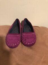 Land's End Toddler Girls Purple Ballet Flats Size 12