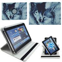 Hülle für Odys NoteTab PRO LTE Schutz Tasche 10 Zoll Tablet Wolf