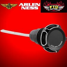 Arlen Ness Arlen Ness Black Beveled Oil Dipstick for Harley Touring 70-222