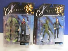 vintage X-FILES fox mulder dana scully SERIES 1 action figure mcfarlane toys H83