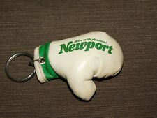 VINTAGE OLD CAR KEY CHAIN NEWPORT CIGARETTES BOXING GLOVE