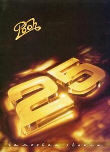 "POOH CARTELLETTA STAMPA ""25 LA NOSTRA STORIA"" TOUR 1991"