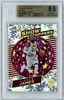 LEBRON JAMES 2017-18 PANINI REVOLUTION SHOWSTOPPERS IMPACT BGS 9.5