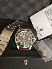 STEINHART OCEAN 1 300M DIVER 42MM ETA 2824-2 WATCH BOX/ PAPERS + LEATHER BAND
