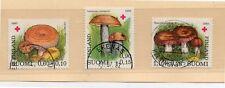 Finlandia Cruz Roja Micologia Setas serie del año 1980 (DL-302)