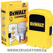 Dewalt EXTREME Metallbohrer-Set 29-tlg. HSS-G - DT7926-XJ Metallbohrer-Satz
