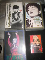 VHS- MADONNA 3 CASSETTE 1 CASSETTA AUDIO VINTAGE live from italy the immaculate