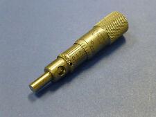 """Starrett 1463 Vernier Micrometer Head, 0.5"""" Range, Stainless Steel"""