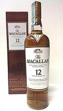 Macallan 12 twelve years old Sherry oak 70 cl 40% vol CON BOX