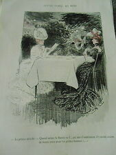 Petite Table au Bois La Russie une constitution Print Art Déco 1905
