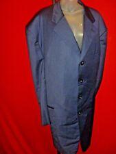 ~DAVID RICKEY Vintage Blue Suit Jacket Custom Design Seattle Seahawks Sam Adams~