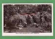 More details for aborigine native camps rockingham bay queensland australia rp pc used ref p28