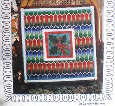 "The Tapis-Tree Christmas / Winter ""Holly Square"" Bargello Needlepoint Kit"
