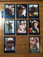 Doctor Who Cornerstone Series 4 Rare Foil 8th Doctor + 7 Foil Chase Cards Set