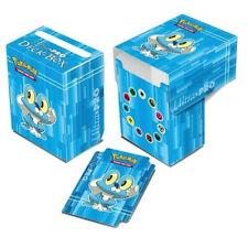 Ultra Pro Pokemon XY FROAKIE Blue Card Deck Box w Dividers